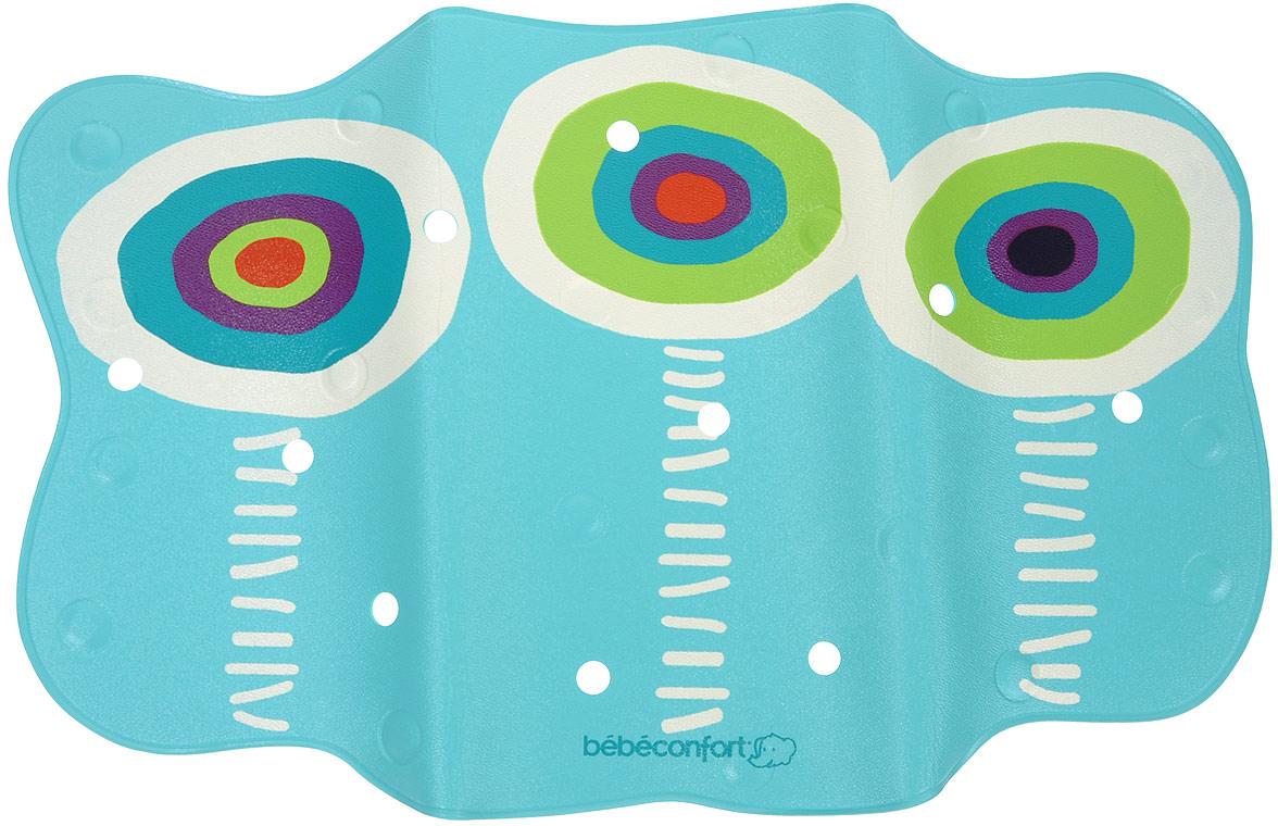 Коврик для ванночки Bebe Confort, нескользящий с термоиндикатором, 70 см х 40 см32000090Нескользящий коврик для ванной Bebe Confort с термоиндикатором. Коврик выполнен из ПВХ имеет нескользящую поверхность и присоски, что не даст малышу поскользнуться в большой ванной. Термоиндикатор становится темно-синим, указывая на идеальную для купания температуру воды 35 градусов, и меняет свой цвет, когда температура становится выше. Перфорированная поверхность не позволяет воде застаиваться.