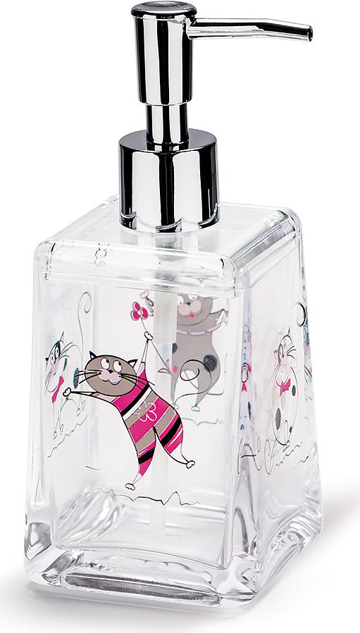 Дозатор для жидкого мыла Tatkraft Funny Cats12974