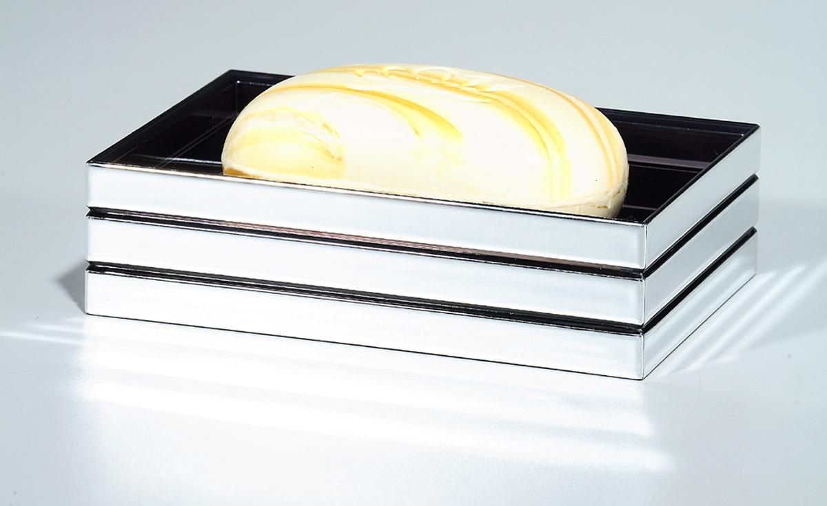 """Оригинальная мыльница Tatkraft """"Acryl Shine"""" выполнена из акрила с зеркальным блеском. Мыльница отличается легкостью и компактностью, при этом она устойчива. Дно мыльницы снабжено желобками для стекания воды. Мыльница Tatkraft """"Acryl Shine"""" прекрасно подойдет для интерьера ванной комнаты.   Размер: 12,5 см x 3,5 см x 8,5 см."""