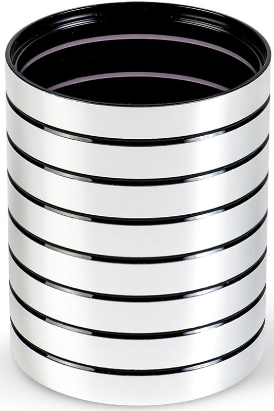 """Стакан для ванной комнаты Tatkraft """"Acryl Shine"""" изготовленный из акрила с зеркальным блеском, отлично подойдет для вашей ванной комнаты. Стакан создаст особую атмосферу уюта и максимального комфорта в ванной.   Диаметр: 7,5 см. Высота: 9,5 см."""