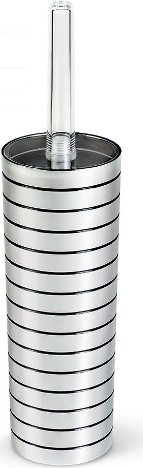 Ершик для туалета Tatkraft Acryl Shine, высота 38 см13162Гарнитур для туалета Tatkraft Acryl Shine включает в себя ершик и подставку. Ершик с жестким ворсом имеет удобную ручку, которая выполнена из прозрачного акрила. Подставка изготовлена из акрила со вставками серебряного цвета. Ершик полностью вставляется в подставку и закрывается крышкой, что обеспечит гигиеничность использования и облегчит уход. Ершик отлично чистит поверхность, а грязь с него легко смывается водой. Длина ершика: 37 см.Длина ворса: 2,5 см.Высота подставки: 26 см.Диаметр подставки: 8,5 см.