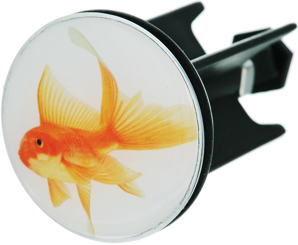 Пробка для раковины Wenko Fish, диаметр 4 см wenko подушка для ванны tropic зеленый tmybw r v