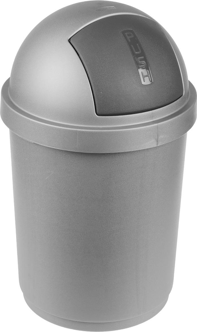 """Контейнер для мусора Curver """"Буллет бин"""" изготовлен из высококачественного пластика и по форме напоминает пулю. Контейнер оснащен специальной крышкой с удобной дверцей на пружинке, которая предотвращает распространение запаха. Бороться с мелким мусором станет легко. Благодаря лаконичному дизайну такой контейнер идеально впишется в интерьер и дома, и офиса."""