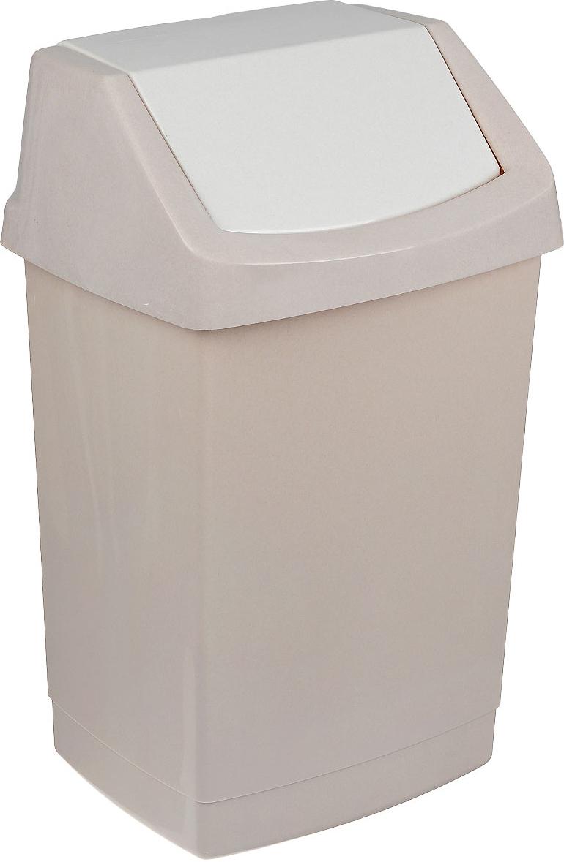 Контейнер для мусора Curver Клик-ит, цвет: бежевый люкс, 50 л curver контейнер для свч curver deco chef 726 лепестки p 1lvqzw