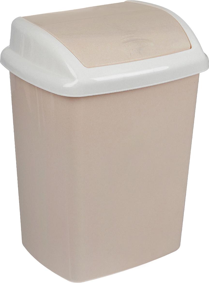 Контейнер для мусора Curver Доминик, цвет: бежевый, белый, 25 лBPT-6815Контейнер для мусора Curver Доминик изготовлен из прочного пластика. Контейнерснабжен удобной крышкой с подвижной перегородкой. В нем удобнохранить мелкий мусор. Благодаря лаконичному дизайну такой контейнер идеальновпишется в интерьер и дома, и офиса.