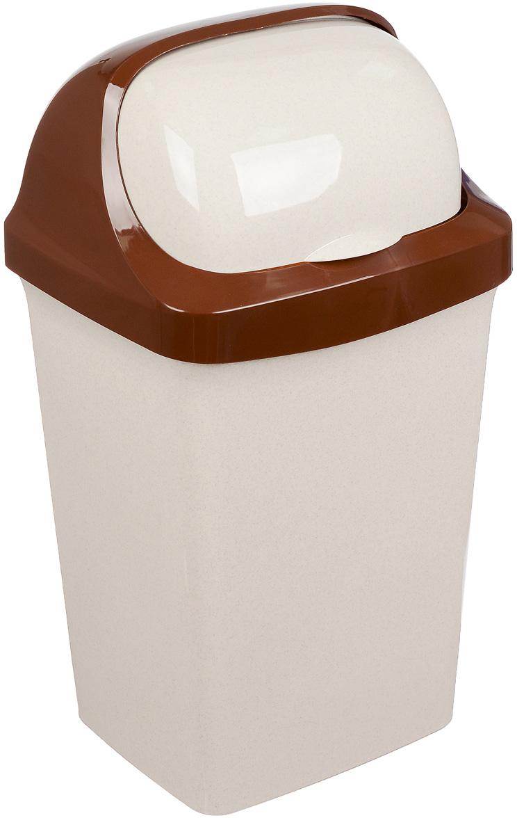 """Контейнер для мусора Idea """"Ролл Топ"""" изготовлен из прочного полипропилена (пластика). Контейнер снабжен удобной съемной крышкой с подвижной перегородкой. Благодаря лаконичному дизайну такой контейнер идеально впишется в интерьер и дома, и офиса."""