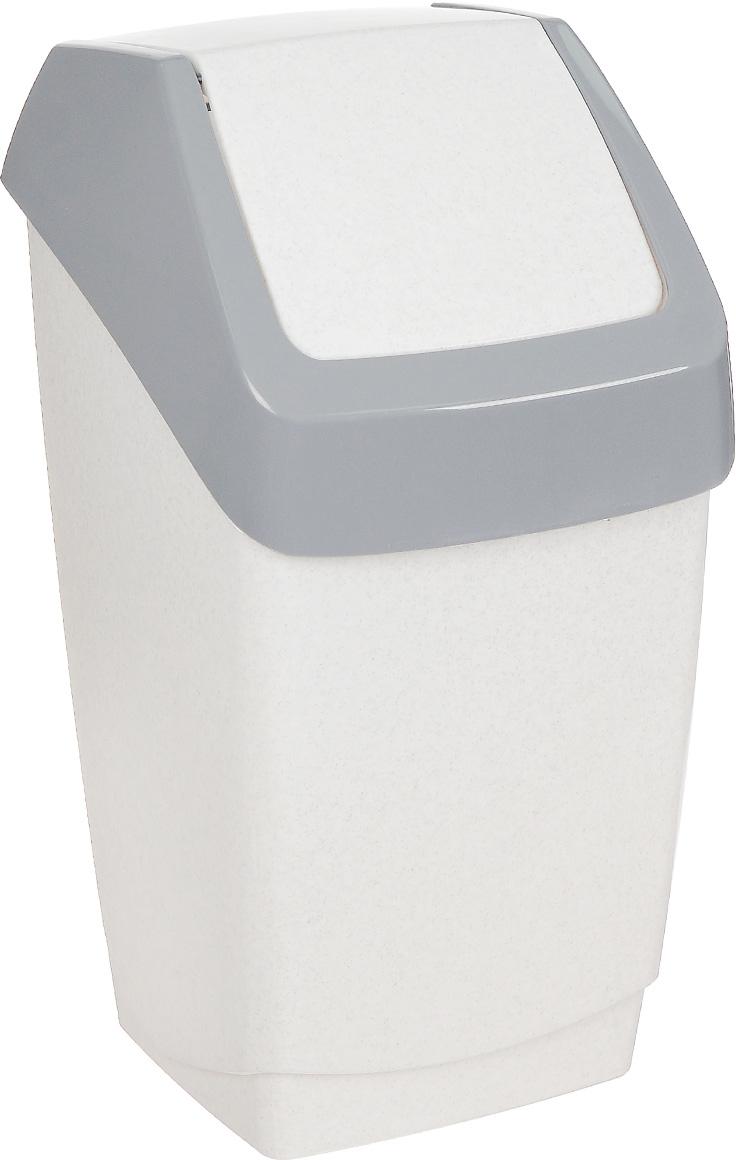 """Контейнер для мусора Idea """"Хапс"""" изготовлен из прочного полипропилена (пластика). Контейнер снабжен удобной съемной крышкой с подвижной перегородкой. Благодаря лаконичному дизайну такой контейнер идеально впишется в интерьер и дома, и офиса."""
