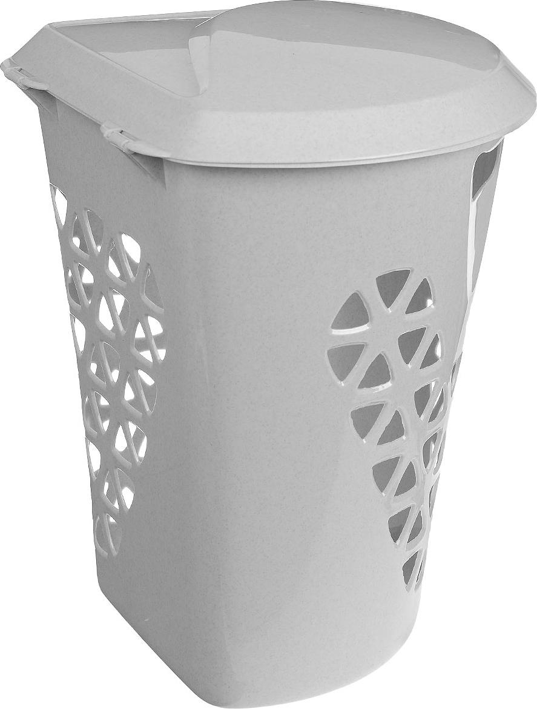 """Угловая корзина для белья М-пластика """"Венеция"""" изготовлена из прочного пластика. Она отлично подойдет для хранения белья перед стиркой. Специальные отверстия на стенках создают идеальные условия для проветривания. Изделие оснащено крышкой. Такая корзина для белья прекрасно впишется в интерьер ванной комнаты."""