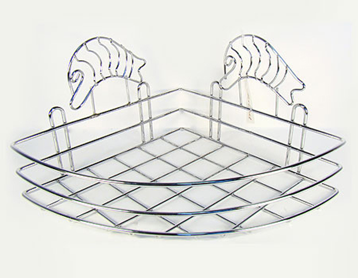 Полочка Mayer & Boch, угловая, высота 15 см2645Угловая полка для ванной комнаты Mayer & Boch отлично подойдет для хранения различных ванных принадлежностей.Полка впишется практически в любой интерьер ванной и поможет эффективно организовать пространство. Высота полки: 15 см. Материал корпуса: хромированная сталь.