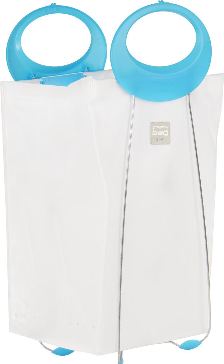 Корзина для белья Gimi Carlotta, цвет: голубой, 39 см х 24 см х 78 см16740760_голубой_голубойКорзина Gimi Carlotta, изготовленная из текстиля, предназначена для хранения белья. Каркас корзины выполнен из стали, благодаря чему она хорошо держит форму. Наверху у корзины имеются шнурки, завязав которые, можно скрыть содержимое корзины. В такой корзине удобно переносить белье в химчистку, так как она оснащена эргономичными пластиковыми ручками.В сложенном виде занимает минимум пространства. Легко складывается и раскладывается.Размер в сложенном виде: 39 см х 6 см х 78 см.
