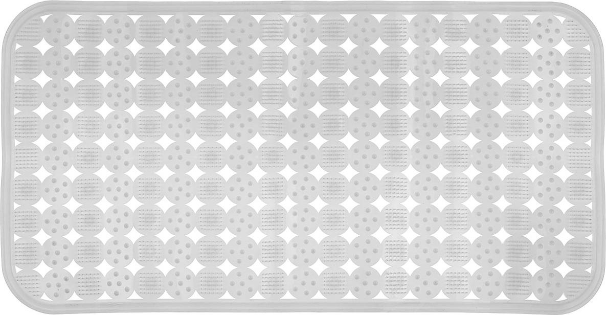 Коврик против скольжения Vortex Массажный для ванны, цвет: белый, 36 см х 70 см коврик дорожка vortex zig zag против скольжения цвет черный 5 мм 0 9 х 10 м
