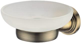 Мыльница подвесная Gro Welle MuskatMSK561Мыльница Gro Welle Muskat изготовлена из высококачественной латуни и прочного матового стекла, благодаря чему подходит для помещений с повышенной влажностью. Хромоникелевое покрытие Crystallight придает изделию эстетичный внешний вид. Имеет водоотталкивающие свойства, благодаря которым защищает изделие. Устойчива к кислотным и щелочным чистящим средствам. Быстро и просто крепится к стене, крепежные материалы входят в комплект. Такая мыльница великолепно дополнит интерьер вашей ванной комнаты или кухни.Диаметр мыльницы: 11,8 см.Высота мыльницы: 6 см.