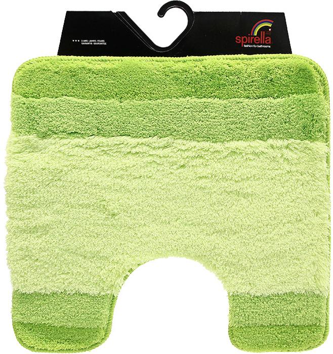 Коврик Balance, цвет: зеленый, 55 х 55 см1009229Коврик для ванной комнаты Balance выполнен из акрила высокого качества. Прорезиненная основа коврика позволяет использовать его во влажных помещениях, предотвращает скольжение коврика по гладкой поверхности, а также обеспечивает надежную фиксацию ворса. Коврик добавит тепла и уюта в ваш дом. Хорошо переносит машинную стирку и отжим в центрифугах, а также подходит для полов с подогревом. Характеристики:Материал: 100% акрил. Размер:55 см х 55 см. Производитель: Швейцария. Изготовитель: Китай. Артикул: 1009229.