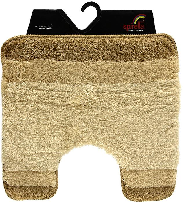 """Коврик """"Balance"""" выполнен из акрила высокого качества. Прорезиненная основа коврика позволяет использовать его во влажных помещениях, предотвращает скольжение коврика по гладкой поверхности, а также обеспечивает надежную фиксацию ворса. Коврик добавит тепла и уюта в ваш дом.  Хорошо переносит машинную стирку и отжим в центрифугах, а также подходит для полов с подогревом. Характеристики:  Материал: 100% акрил. Размер:  55 см х 55 см. Производитель: Швейцария. Изготовитель: Китай. Артикул: 1009235."""
