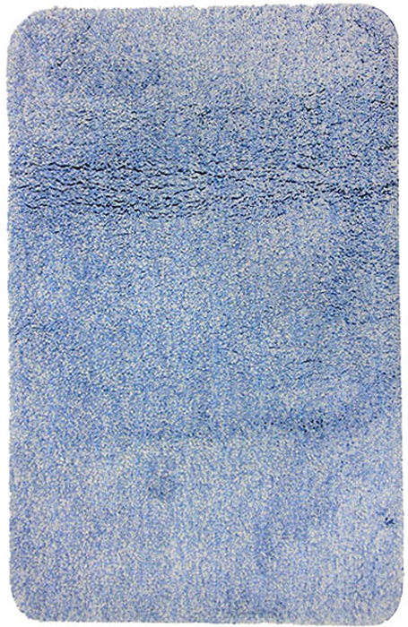 Коврик для ванной комнаты Gobi, цвет: светло-голубой, 70 х 120 см1012425Коврик для ванной комнаты Gobi светло-голубого цвета выполнен из полиэстера высокого качества. Прорезиненная основа коврика позволяет использовать его во влажных помещениях, предотвращает скольжение коврика по гладкой поверхности, а также обеспечивает надежную фиксацию ворса. Коврик добавит тепла и уюта в ваш дом. Характеристики: Материал: 100% полиэстер. Цвет:светло-голубой. Размер:70 см х 120 см. Производитель: Швейцария. Изготовитель: Китай. Артикул:1012425.