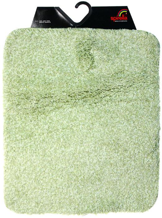 Коврик для ванной комнаты Gobi, цвет: зеленый чай, 55 х 65 см babyono коврик противоскользящий для ванной цвет зеленый 55 х 35 см