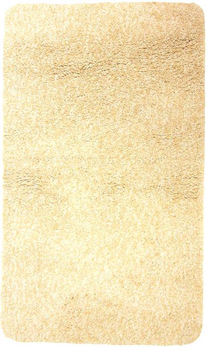 Коврик для ванной комнаты Gobi, цвет: светло-бежевый, 70 х 120 см1012517Коврик для ванной комнаты Gobi светло-бежевого цвета выполнен из полиэстера высокого качества. Прорезиненная основа коврика позволяет использовать его во влажных помещениях, предотвращает скольжение коврика по гладкой поверхности, а также обеспечивает надежную фиксацию ворса. Коврик добавит тепла и уюта в ваш дом. Характеристики: Материал: 100% полиэстер. Цвет:светло-бежевый. Размер:70 см х 120 см. Производитель: Швейцария. Изготовитель: Китай. Артикул:1012517.