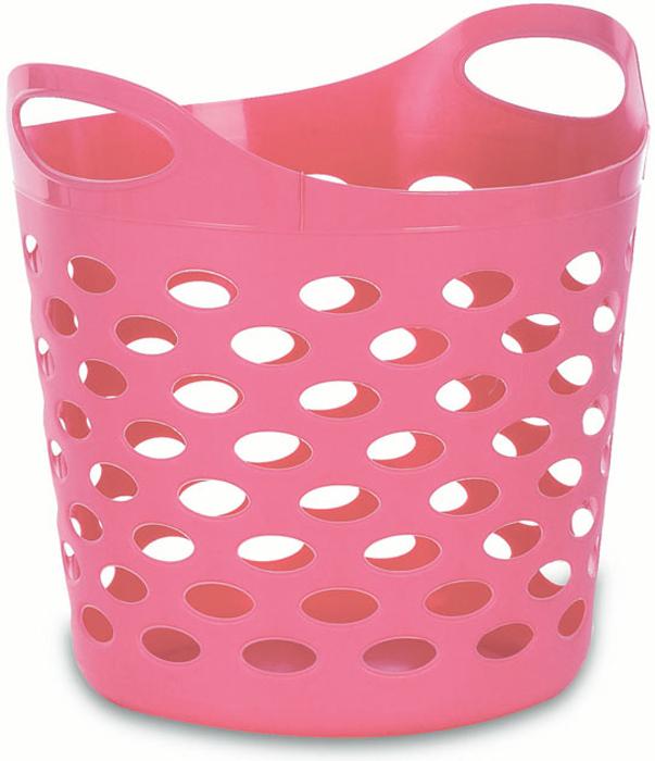 """Корзина-сумка """"Gensini"""", универсальная, цвет: розовый, 13 л"""