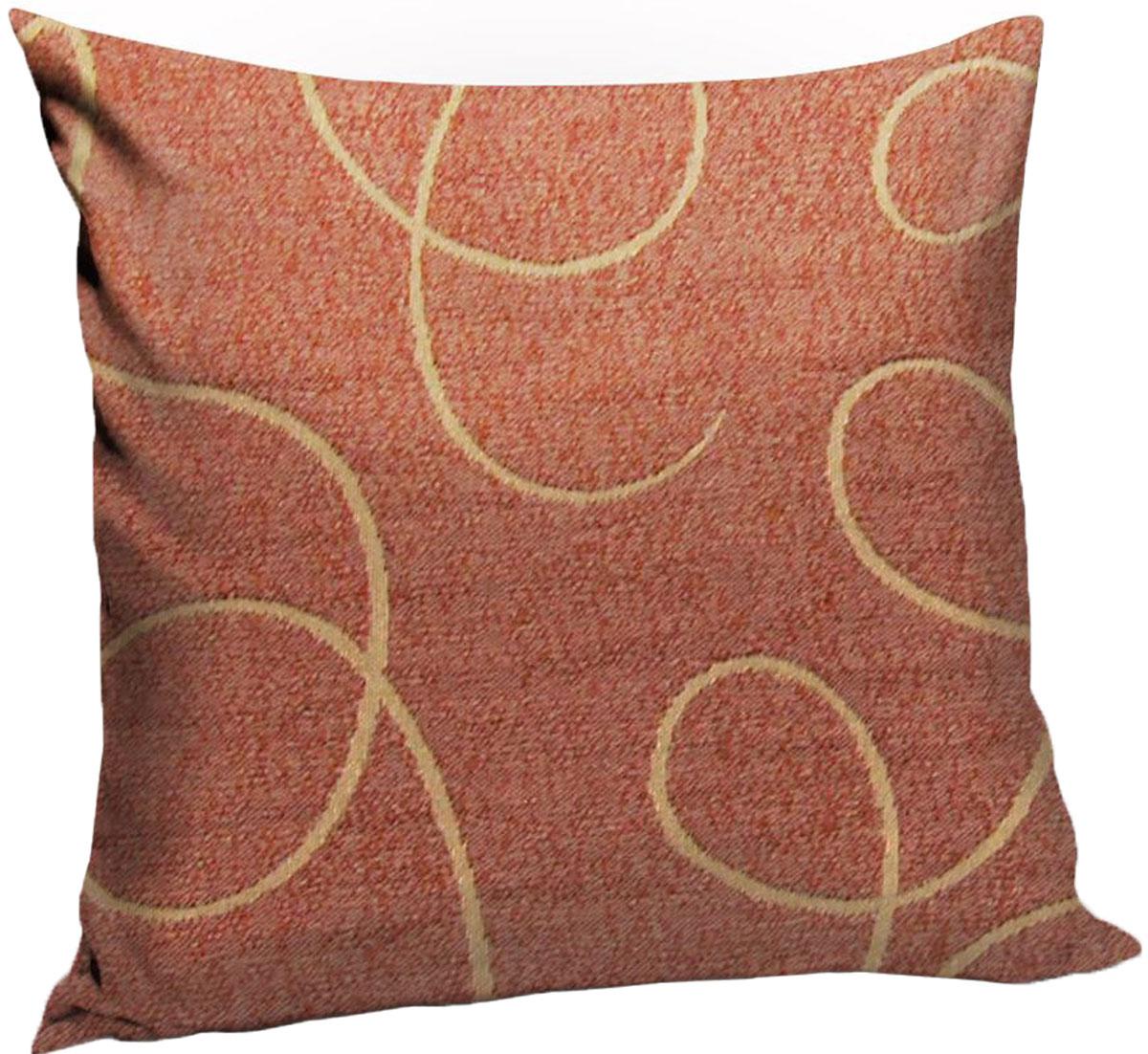 """Декоративная подушка KauffOrt """"Минор"""" прекрасно дополнит интерьер спальни или  гостиной. Чехол подушки выполнен из двухслойного жаккарда. Внутри  находится мягкий наполнитель, выполненный из холлофайбера. Чехол легко снимается  благодаря молнии."""
