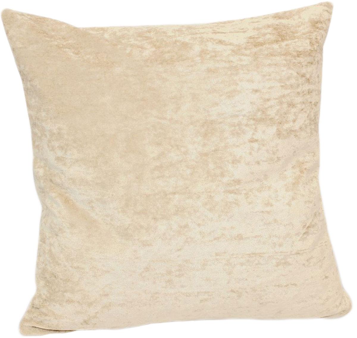 """Декоративная подушка """"Бархат"""" прекрасно дополнит интерьер спальни или гостиной. Бархатистый на ощупь чехол подушки выполнен из 49% вискозы, 42% хлопка и 9% полиэстера. Внутри находится мягкий наполнитель. Чехол легко снимается благодаря потайной молнии."""