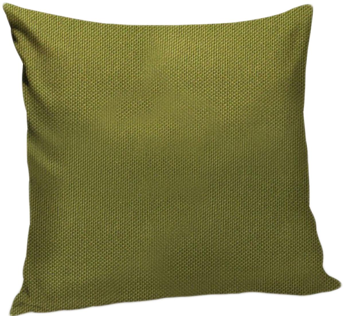 Подушка декоративная KauffOrt Комо, цвет: темно-зеленый, 40 x 40 см3121540186Декоративная подушка Комо прекрасно дополнит интерьер спальни или гостиной. Чехолподушки выполнен из лонеты. Внутри находится мягкий наполнитель. Чехол легко снимаетсяблагодаря потайной молнии.