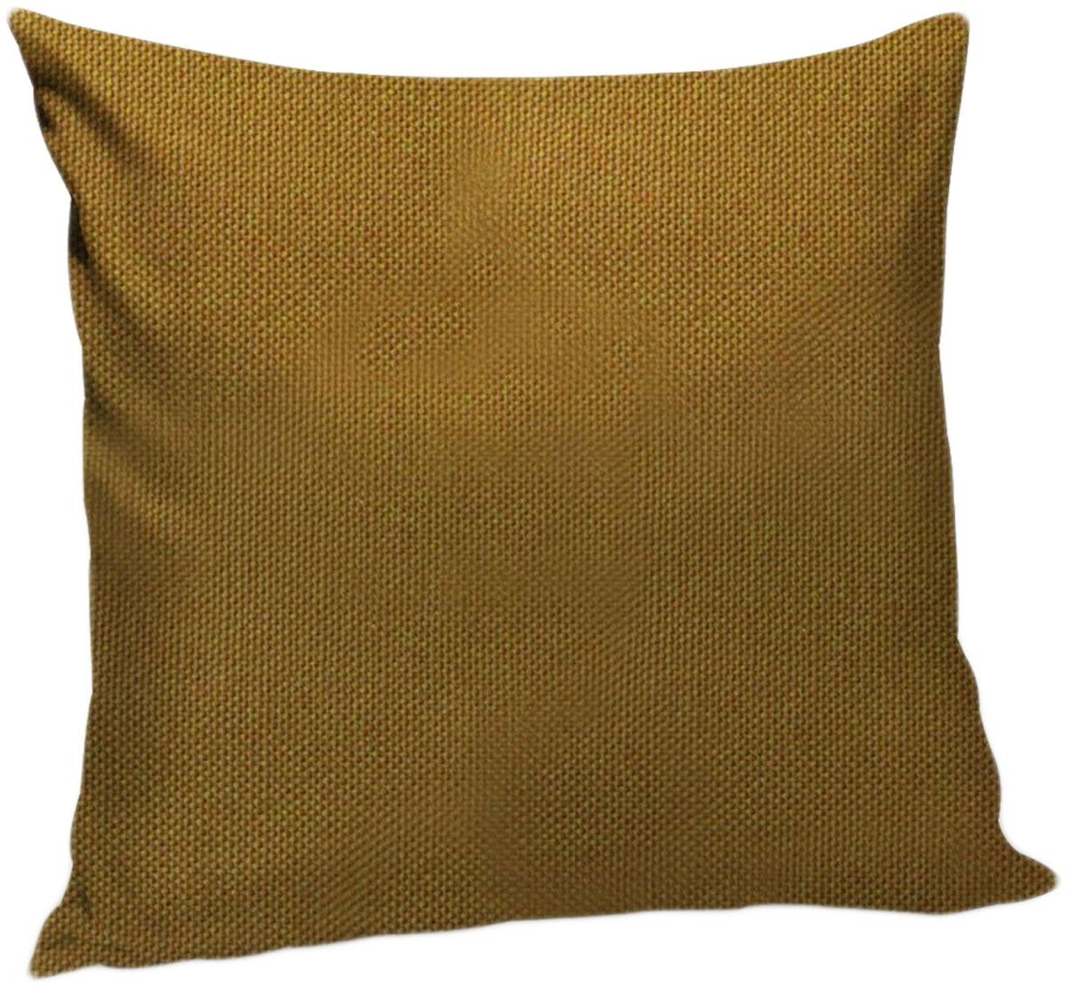 Подушка декоративная KauffOrt Комо, цвет: горчичный, 40 x 40 см3121540150Декоративная подушка Комо прекрасно дополнит интерьер спальни или гостиной. Чехолподушки выполнен из лонеты. Внутри находится мягкий наполнитель. Чехол легко снимаетсяблагодаря потайной молнии.