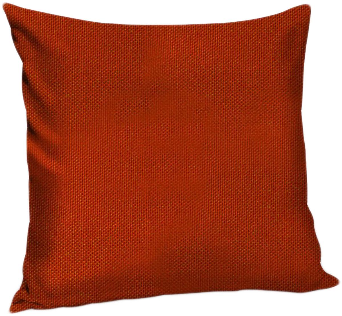 Подушка декоративная KauffOrt Комо, цвет: красный, 40 x 40 см3121540130Декоративная подушка Комо прекрасно дополнит интерьер спальни или гостиной. Чехолподушки выполнен из лонеты. Внутри находится мягкий наполнитель. Чехол легко снимаетсяблагодаря потайной молнии.