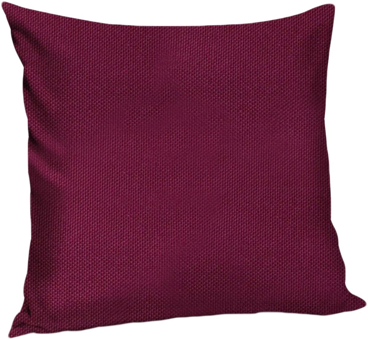 Подушка декоративная KauffOrt Комо, цвет: бордово-фиолетовый, 40 x 40 см3121540175Декоративная подушка Комо прекрасно дополнит интерьер спальни или гостиной. Чехолподушки выполнен из лонеты. Внутри находится мягкий наполнитель. Чехол легко снимаетсяблагодаря потайной молнии.