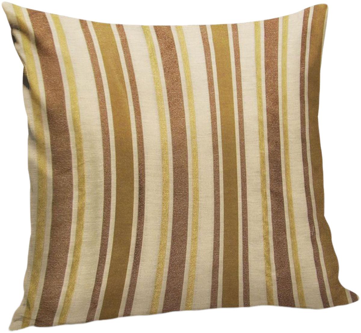 """Декоративная подушка """"Корсика"""" прекрасно дополнит интерьер спальни или гостиной.  Чехол  подушки выполнен из жаккардовой ткани. Внутри находится мягкий наполнитель. Чехол  легко  снимается  благодаря потайной молнии."""