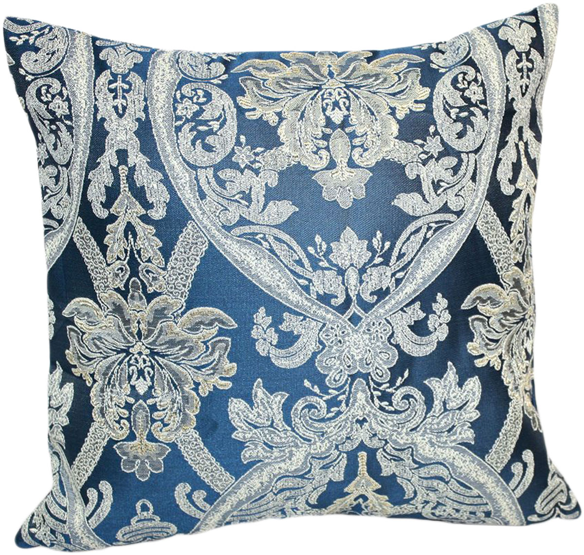 Подушка декоративная KauffOrt Мауритани, цвет: синий, 40 x 40 см3121041640Декоративная подушка KauffOrt Мауритани прекрасно дополнит интерьер спальни или гостиной. Мягкий на ощупь чехол подушки выполнен из 100% полиэстера. Внутри находится мягкий наполнитель, выполненный из холлофайбера. Чехол легко снимается благодаря молнии. Красивая подушка создаст атмосферу уюта и комфорта в спальне и станет прекрасным элементом декора.