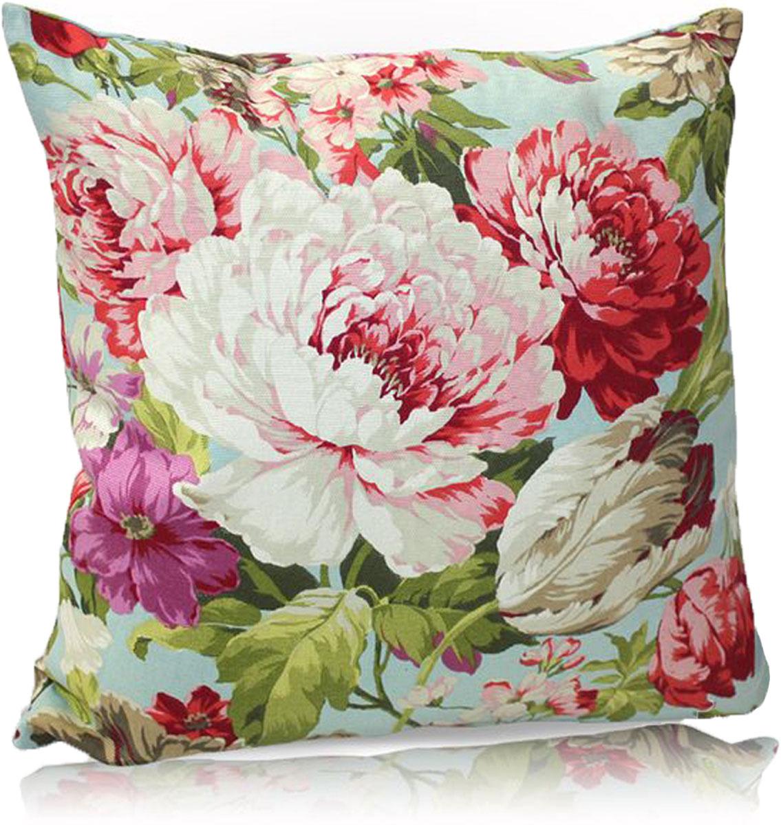"""Декоративная подушка """"KauffOrt """" прекрасно дополнит интерьер спальни или гостиной. Чехол  подушки выполнен из лонеты (54% хлопок, 46% полиэстер). Внутри находится мягкий наполнитель.  Чехол легко снимается  благодаря потайной молнии."""