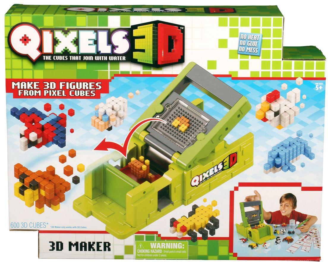 Qixels Машинка для создания 3D фигурок 3D Принтер