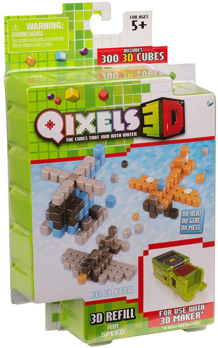 Qixels Дополнительный набор для 3D принтера Air Speed дополнительный набор qixels для 3d принтера в ассортименте