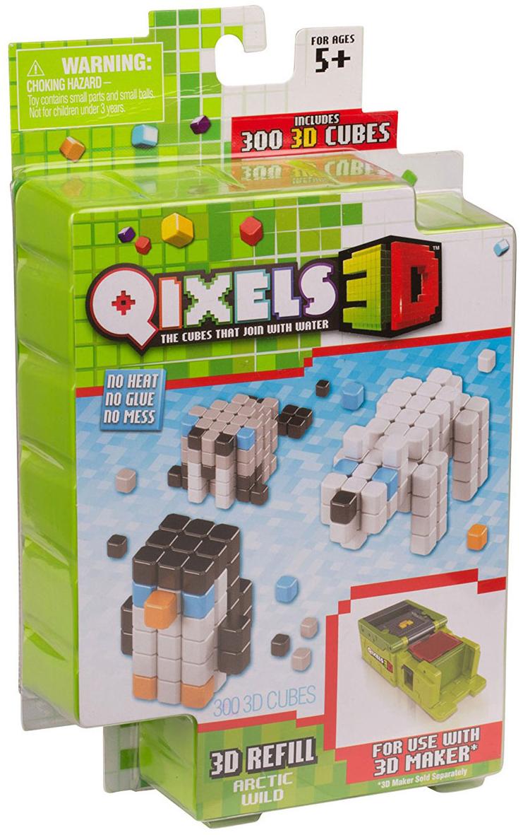 Qixels Дополнительный набор для 3D принтера Arctic Wild дополнительный набор qixels для 3d принтера в ассортименте