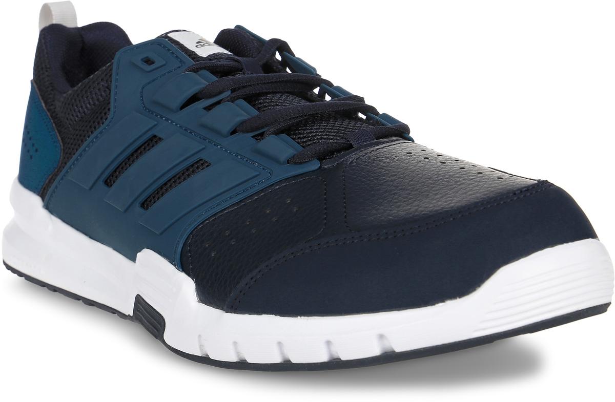 Кроссовки для бега мужские adidas Neo Galaxy 4 Trainer, цвет: темно-синий. BB3231. Размер 10 (43)BB3231Для специализированных занятий нужна спортивная обувь с максимальной поддержкой. Благодаря поддерживающему каркасу в средней части стопы эти мужские кроссовки от adidas обеспечивают твоим ногам устойчивость во время интервальных тренировок. Верх с сетчатой подкладкой усиливает вентиляцию, а промежуточная подошва CloudFoam смягчает каждый шаг.