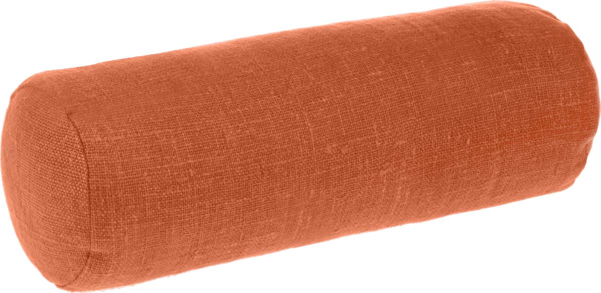 Подушка ортопедическая Эко. Валик, цвет: оранжевый, 40 х 15 см7оранжНаполнителем уникальной по своим свойствам ортопедической подушки Эко. Валик является экологическичистая лузга гречихи. Наполнитель помещен в чехол из хлопчатобумажной ткани и наволочку из 100% льна,который не скользит. Есть молния для снятия наволочки.