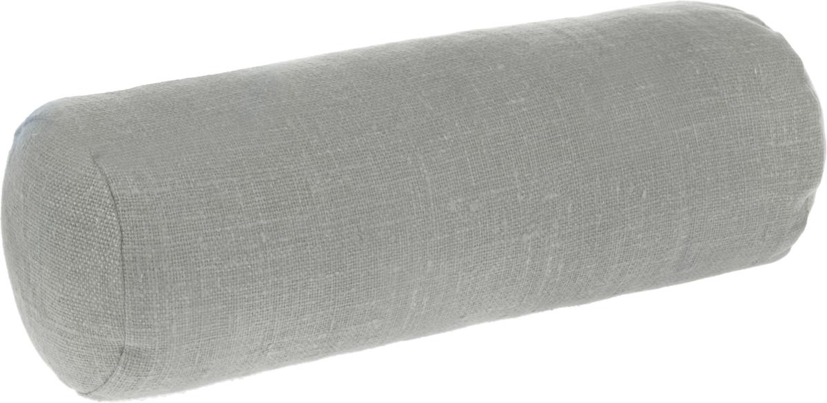Подушка ортопедическая Эко. Валик, цвет: бежевый, 40 х 15 см7бежНаполнителем уникальной по своим свойствам ортопедической подушки Эко. Валик является экологическичистая лузга гречихи. Наполнитель помещен в чехол из хлопчатобумажной ткани и наволочку из 100% льна,который не скользит. Есть молния для снятия наволочки.
