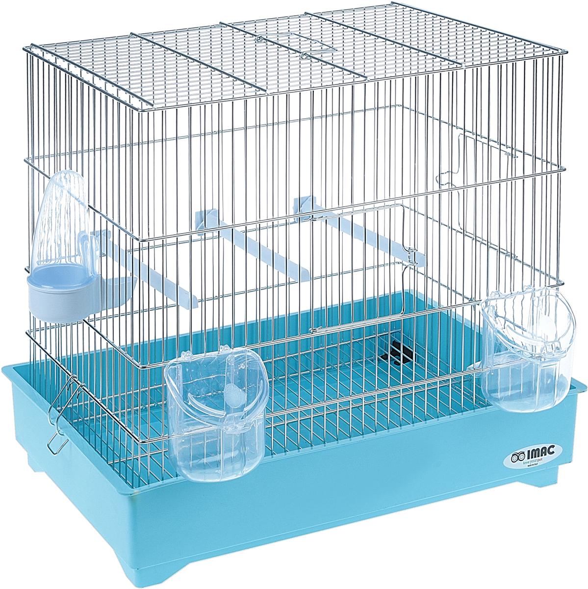 Клетка для птиц Imac COVA 42, 43 х 26 х 37 см клетка для птиц ферпласт регина с комплектом белая