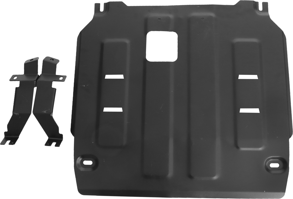 Защита картера и КПП Автоброня Kia Sorento Prime 2015-, сталь 2 мм111.02831.1Защита картера и КПП Автоброня Kia Sorento Prime 4WD, V- 2,2CRDi; 2,4i; 3,3i 2015-, сталь 2 мм, комплект крепежа, 111.02831.1Стальные защиты Автоброня надежно защищают ваш автомобиль от повреждений при наезде на бордюры, выступающие канализационные люки, кромки поврежденного асфальта или при ремонте дорог, не говоря уже о загородных дорогах.- Имеют оптимальное соотношение цена-качество.- Спроектированы с учетом особенностей автомобиля, что делает установку удобной.- Защита устанавливается в штатные места кузова автомобиля.- Является надежной защитой для важных элементов на протяжении долгих лет.- Глубокий штамп дополнительно усиливает конструкцию защиты.- Подштамповка в местах крепления защищает крепеж от срезания.- Технологические отверстия там, где они необходимы для смены масла и слива воды, оборудованные заглушками, закрепленными на защите.Толщина стали 2 мм.В комплекте крепеж и инструкция по установке.Уважаемые клиенты!Обращаем ваше внимание на тот факт, что защита имеет форму, соответствующую модели данного автомобиля. Наличие глубокого штампа и лючков для смены фильтров/масла предусмотрено не на всех защитах. Фото служит для визуального восприятия товара.