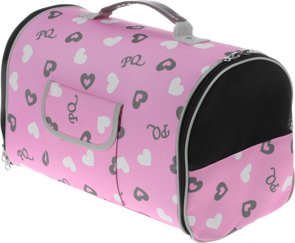Сумка-переноска для животных  Camon , цвет: розовый. Размер М - Переноски, товары для транспортировки