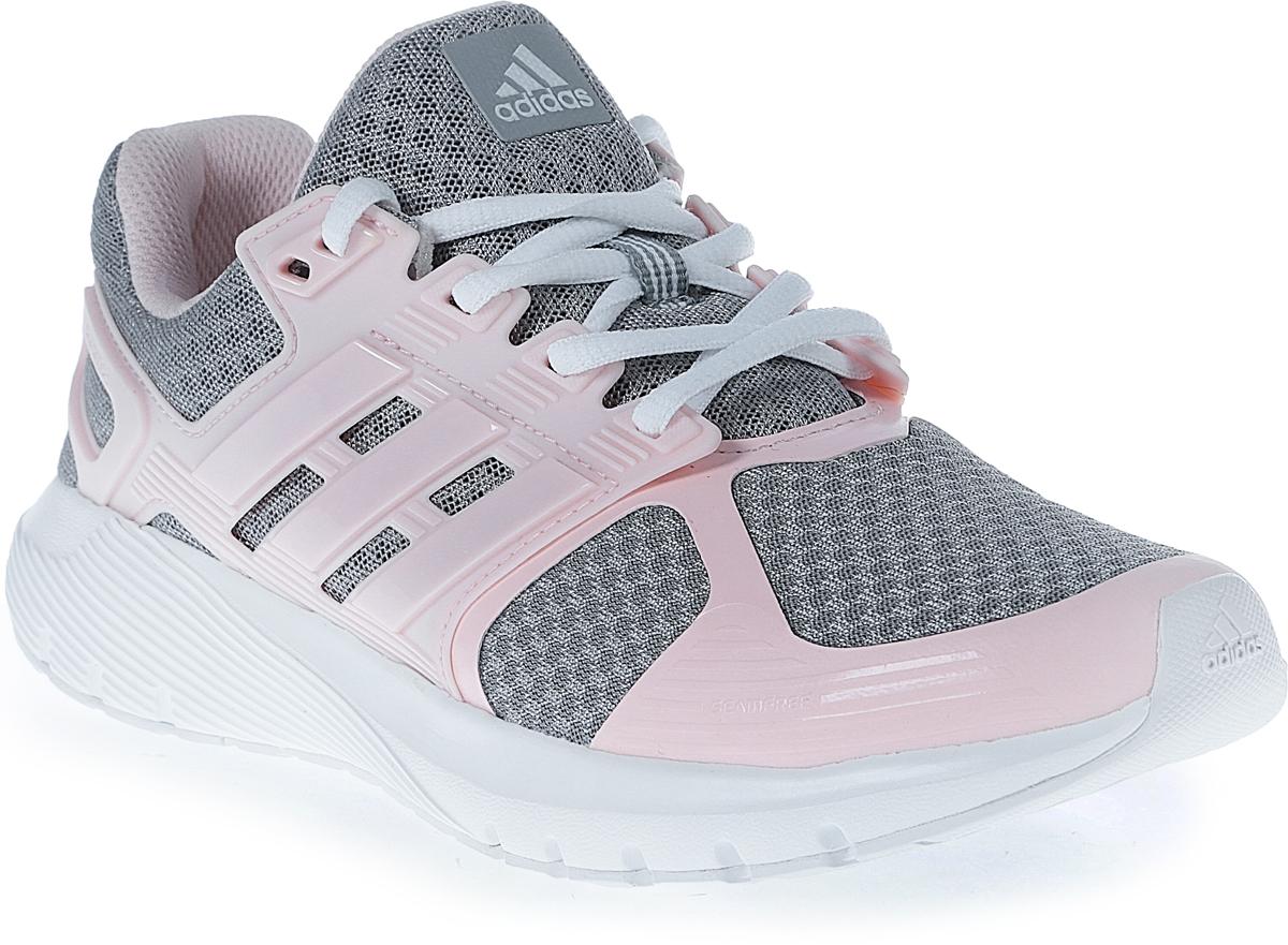 Кроссовки для бега женские Adidas Duramo 8, цвет: серый, розовый. BA8090. Размер 4,5 (36,5)BA8090Женские кроссовки для бега adidas Duramo 8 выполнены из сетчатого текстиля и оформлены накладками из полимера. Шнурки надежно зафиксируют модель на ноге. Внутренняя поверхность из сетчатого текстиля комфортна при движении. Стелька выполнена из легкого ЭВА-материала с поверхностью из текстиля. Подошва изготовлена из высококачественной легкой резины и оснащена технологией Cloudfoam для поглощения ударных нагрузок и комфортной посадки без разнашивания. Поверхность подошвы дополнена рельефным рисунком.