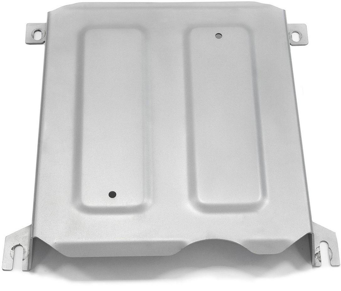 Защита заслонки системы выпуска ОГ Rival, для Skoda Kodiaq 2017-н.в., алюминий 4 мм, штатный крепеж, 3.5117.13.5117.1Защита заслонки системы выпуска ОГ для Skoda Kodiaq V - 2.0d (150л.с.) 2017-н.в., алюминий 4 мм, штатный крепеж, 3.5117.1Алюминиевые защиты Rival надежно защищают днище вашего автомобиля от повреждений, например при наезде на бордюры, а также выполняют эстетическую функцию при установке на высокие автомобили.- Толщина алюминиевых защит в 2 раза толще стальных, а вес при этом меньше до 30%.- Отлично отводит тепло от двигателя своей поверхностью, что спасает двигатель от перегрева в летний период или при высоких нагрузках.- В отличие от стальных, алюминиевые защиты не поддаются коррозии, что гарантирует срок службы защит более 5 лет.- Покрываются порошковой краской, что надолго сохраняет первоначальный вид новой защиты и защищает от гальванической коррозии.- Глубокий штамп дополнительно усиливает конструкцию защиты.- Подштамповка в местах крепления защищает крепеж от срезания.- Технологические отверстия там, где они необходимы для смены масла и слива воды, оборудованные заглушками, надежно закрепленными на защите.- Помимо основной функции защиты от удара, конструкция так же существенно снижает попадание в моторный отсек влаги и грязи.В комплекте инструкция по установке.Уважаемые клиенты!Обращаем ваше внимание, на тот факт, что защита имеет форму, соответствующую модели данного автомобиля. Наличие глубокого штампа и лючков для смены фильтров/масла предусмотрено не на всех защитах. Фото служит для визуального восприятия товара.