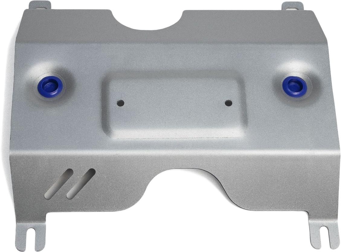 Защита заслонки системы выпуска ОГ Rival, для Volkswagen Tiguan 2017-н.в., алюминий 4 мм, штатный крепеж, 3.5850.13.5850.1Защита заслонки системы выпуска ОГ для Volkswagen Tiguan V - 2.0d (150л.с.) 2017-н.в., алюминий 4 мм, штатный крепеж, 3.5850.1Алюминиевые защиты Rival надежно защищают днище вашего автомобиля от повреждений, например при наезде на бордюры, а также выполняют эстетическую функцию при установке на высокие автомобили.- Толщина алюминиевых защит в 2 раза толще стальных, а вес при этом меньше до 30%.- Отлично отводит тепло от двигателя своей поверхностью, что спасает двигатель от перегрева в летний период или при высоких нагрузках.- В отличие от стальных, алюминиевые защиты не поддаются коррозии, что гарантирует срок службы защит более 5 лет.- Покрываются порошковой краской, что надолго сохраняет первоначальный вид новой защиты и защищает от гальванической коррозии.- Глубокий штамп дополнительно усиливает конструкцию защиты.- Подштамповка в местах крепления защищает крепеж от срезания.- Технологические отверстия там, где они необходимы для смены масла и слива воды, оборудованные заглушками, надежно закрепленными на защите.- Помимо основной функции защиты от удара, конструкция так же существенно снижает попадание в моторный отсек влаги и грязи.В комплекте инструкция по установке.Уважаемые клиенты!Обращаем ваше внимание, на тот факт, что защита имеет форму, соответствующую модели данного автомобиля. Наличие глубокого штампа и лючков для смены фильтров/масла предусмотрено не на всех защитах. Фото служит для визуального восприятия товара.