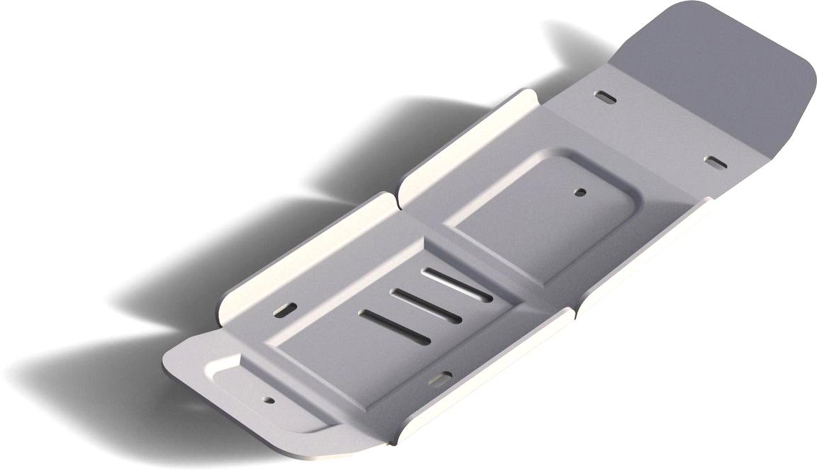 Защита редуктора Rival, для Audi Q7 2015-н.в., алюминий 4 мм333.0336.1Защита редуктора для Audi Q7 V - 3.0; 3.0d (для а/м с управляемой задней подвеской) 2015-н.в., алюминий 4 мм, крепеж в комплекте, 333.0336.1Алюминиевые защиты Rival надежно защищают днище вашего автомобиля от повреждений, например при наезде на бордюры, а также выполняют эстетическую функцию при установке на высокие автомобили.- Толщина алюминиевых защит в 2 раза толще стальных, а вес при этом меньше до 30%.- Отлично отводит тепло от двигателя своей поверхностью, что спасает двигатель от перегрева в летний период или при высоких нагрузках.- В отличие от стальных, алюминиевые защиты не поддаются коррозии, что гарантирует срок службы защит более 5 лет.- Покрываются порошковой краской, что надолго сохраняет первоначальный вид новой защиты и защищает от гальванической коррозии.- Глубокий штамп дополнительно усиливает конструкцию защиты.- Подштамповка в местах крепления защищает крепеж от срезания.- Технологические отверстия там, где они необходимы для смены масла и слива воды, оборудованные заглушками, надежно закрепленными на защите.- Помимо основной функции защиты от удара, конструкция так же существенно снижает попадание в моторный отсек влаги и грязи.В комплекте инструкция по установке.Уважаемые клиенты!Обращаем ваше внимание, на тот факт, что защита имеет форму, соответствующую модели данного автомобиля. Наличие глубокого штампа и лючков для смены фильтров/масла предусмотрено не на всех защитах. Фото служит для визуального восприятия товара.