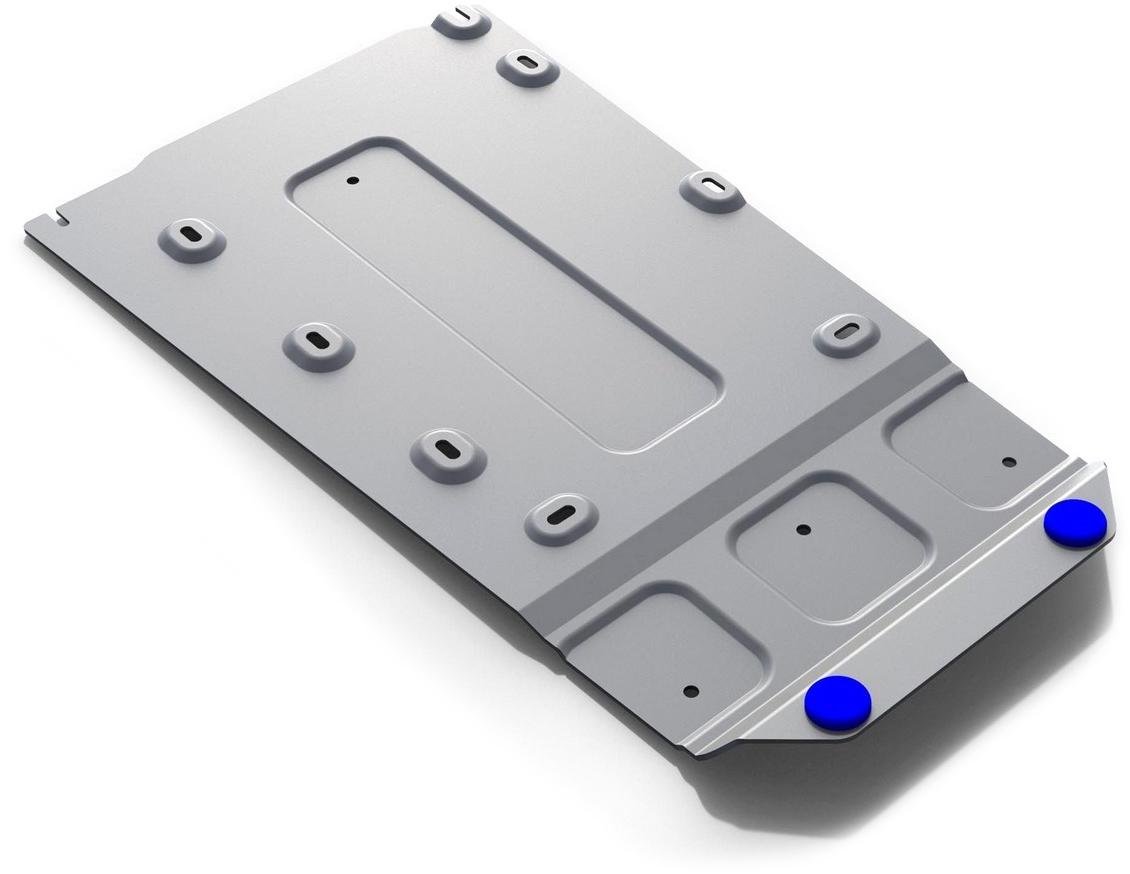 Защита КПП и РК Rival, для BMW 5-series 2016-н.в., алюминий 4 мм333.0530.1Защита КПП и РК для BMW 5-series V - 520d; 530d; 540i 4WD 2016-н.в., алюминий 4 мм, крепеж в комплекте, 333.0530.1Алюминиевые защиты Rival надежно защищают днище вашего автомобиля от повреждений, например при наезде на бордюры, а также выполняют эстетическую функцию при установке на высокие автомобили.- Толщина алюминиевых защит в 2 раза толще стальных, а вес при этом меньше до 30%.- Отлично отводит тепло от двигателя своей поверхностью, что спасает двигатель от перегрева в летний период или при высоких нагрузках.- В отличие от стальных, алюминиевые защиты не поддаются коррозии, что гарантирует срок службы защит более 5 лет.- Покрываются порошковой краской, что надолго сохраняет первоначальный вид новой защиты и защищает от гальванической коррозии.- Глубокий штамп дополнительно усиливает конструкцию защиты.- Подштамповка в местах крепления защищает крепеж от срезания.- Технологические отверстия там, где они необходимы для смены масла и слива воды, оборудованные заглушками, надежно закрепленными на защите.- Помимо основной функции защиты от удара, конструкция так же существенно снижает попадание в моторный отсек влаги и грязи.В комплекте инструкция по установке.Уважаемые клиенты!Обращаем ваше внимание, на тот факт, что защита имеет форму, соответствующую модели данного автомобиля. Наличие глубокого штампа и лючков для смены фильтров/масла предусмотрено не на всех защитах. Фото служит для визуального восприятия товара.