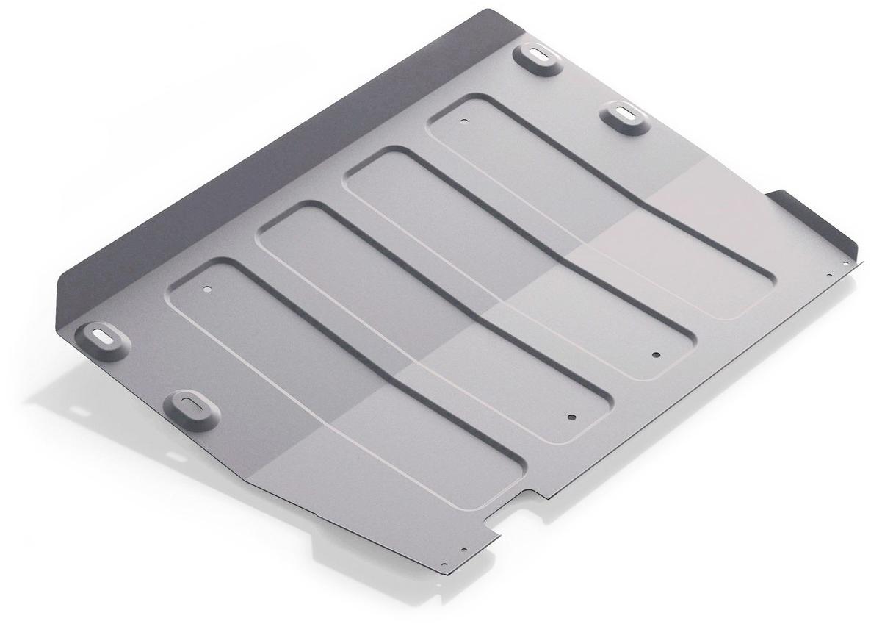 Защита картера и КПП Rival, для Ford Transit 2014-н.в., алюминий 4 мм333.1851.1Защита картера и КПП для Ford Transit V - 2.2d 4WD, RWD 2014-н.в., алюминий 4 мм, крепеж в комплекте, 333.1851.1Алюминиевые защиты Rival надежно защищают днище вашего автомобиля от повреждений, например при наезде на бордюры, а также выполняют эстетическую функцию при установке на высокие автомобили.- Толщина алюминиевых защит в 2 раза толще стальных, а вес при этом меньше до 30%.- Отлично отводит тепло от двигателя своей поверхностью, что спасает двигатель от перегрева в летний период или при высоких нагрузках.- В отличие от стальных, алюминиевые защиты не поддаются коррозии, что гарантирует срок службы защит более 5 лет.- Покрываются порошковой краской, что надолго сохраняет первоначальный вид новой защиты и защищает от гальванической коррозии.- Глубокий штамп дополнительно усиливает конструкцию защиты.- Подштамповка в местах крепления защищает крепеж от срезания.- Технологические отверстия там, где они необходимы для смены масла и слива воды, оборудованные заглушками, надежно закрепленными на защите.- Помимо основной функции защиты от удара, конструкция так же существенно снижает попадание в моторный отсек влаги и грязи.В комплекте инструкция по установке.Уважаемые клиенты!Обращаем ваше внимание, на тот факт, что защита имеет форму, соответствующую модели данного автомобиля. Наличие глубокого штампа и лючков для смены фильтров/масла предусмотрено не на всех защитах. Фото служит для визуального восприятия товара.