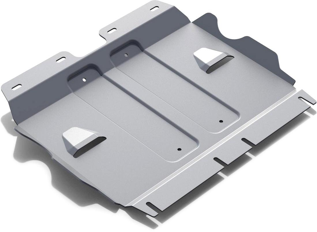 Защита картера Rival, для Mercedes Benz S-class 2013-н.в., алюминий 4 мм333.3935.1Защита картера для Mercedes Benz S-class V - 4.7; 3.0d 4WD 2013-н.в., алюминий 4 мм, крепеж в комплекте, 333.3935.1Алюминиевые защиты Rival надежно защищают днище вашего автомобиля от повреждений, например при наезде на бордюры, а также выполняют эстетическую функцию при установке на высокие автомобили.- Толщина алюминиевых защит в 2 раза толще стальных, а вес при этом меньше до 30%.- Отлично отводит тепло от двигателя своей поверхностью, что спасает двигатель от перегрева в летний период или при высоких нагрузках.- В отличие от стальных, алюминиевые защиты не поддаются коррозии, что гарантирует срок службы защит более 5 лет.- Покрываются порошковой краской, что надолго сохраняет первоначальный вид новой защиты и защищает от гальванической коррозии.- Глубокий штамп дополнительно усиливает конструкцию защиты.- Подштамповка в местах крепления защищает крепеж от срезания.- Технологические отверстия там, где они необходимы для смены масла и слива воды, оборудованные заглушками, надежно закрепленными на защите.- Помимо основной функции защиты от удара, конструкция так же существенно снижает попадание в моторный отсек влаги и грязи.В комплекте инструкция по установке.Уважаемые клиенты!Обращаем ваше внимание, на тот факт, что защита имеет форму, соответствующую модели данного автомобиля. Наличие глубокого штампа и лючков для смены фильтров/масла предусмотрено не на всех защитах. Фото служит для визуального восприятия товара.