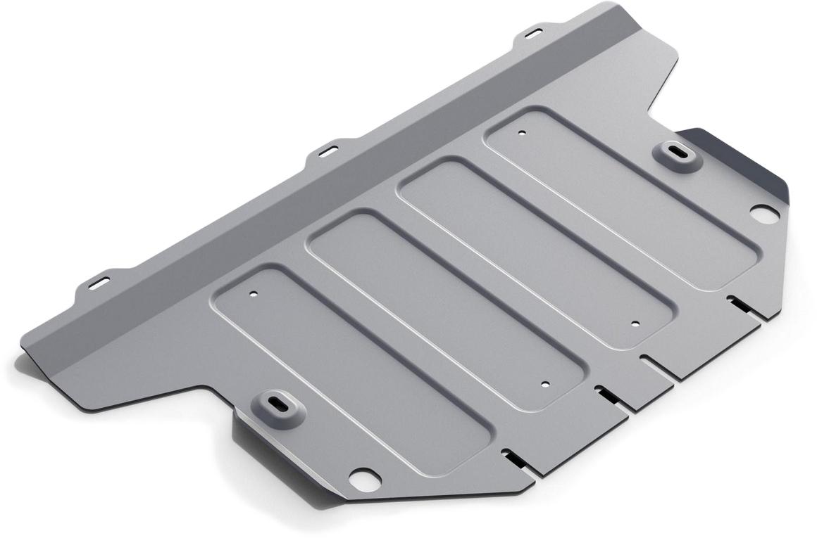 Защита картера Rival, для Mercedes Benz V-class 2014-н.в., алюминий 4 мм333.3938.1Защита картера для Mercedes Benz V-class V - 2.1d (163л.с.) RWD АКПП 2014-н.в., алюминий 4 мм, крепеж в комплекте, 333.3938.1Алюминиевые защиты Rival надежно защищают днище вашего автомобиля от повреждений, например при наезде на бордюры, а также выполняют эстетическую функцию при установке на высокие автомобили.- Толщина алюминиевых защит в 2 раза толще стальных, а вес при этом меньше до 30%.- Отлично отводит тепло от двигателя своей поверхностью, что спасает двигатель от перегрева в летний период или при высоких нагрузках.- В отличие от стальных, алюминиевые защиты не поддаются коррозии, что гарантирует срок службы защит более 5 лет.- Покрываются порошковой краской, что надолго сохраняет первоначальный вид новой защиты и защищает от гальванической коррозии.- Глубокий штамп дополнительно усиливает конструкцию защиты.- Подштамповка в местах крепления защищает крепеж от срезания.- Технологические отверстия там, где они необходимы для смены масла и слива воды, оборудованные заглушками, надежно закрепленными на защите.- Помимо основной функции защиты от удара, конструкция так же существенно снижает попадание в моторный отсек влаги и грязи.В комплекте инструкция по установке.Уважаемые клиенты!Обращаем ваше внимание, на тот факт, что защита имеет форму, соответствующую модели данного автомобиля. Наличие глубокого штампа и лючков для смены фильтров/масла предусмотрено не на всех защитах. Фото служит для визуального восприятия товара.