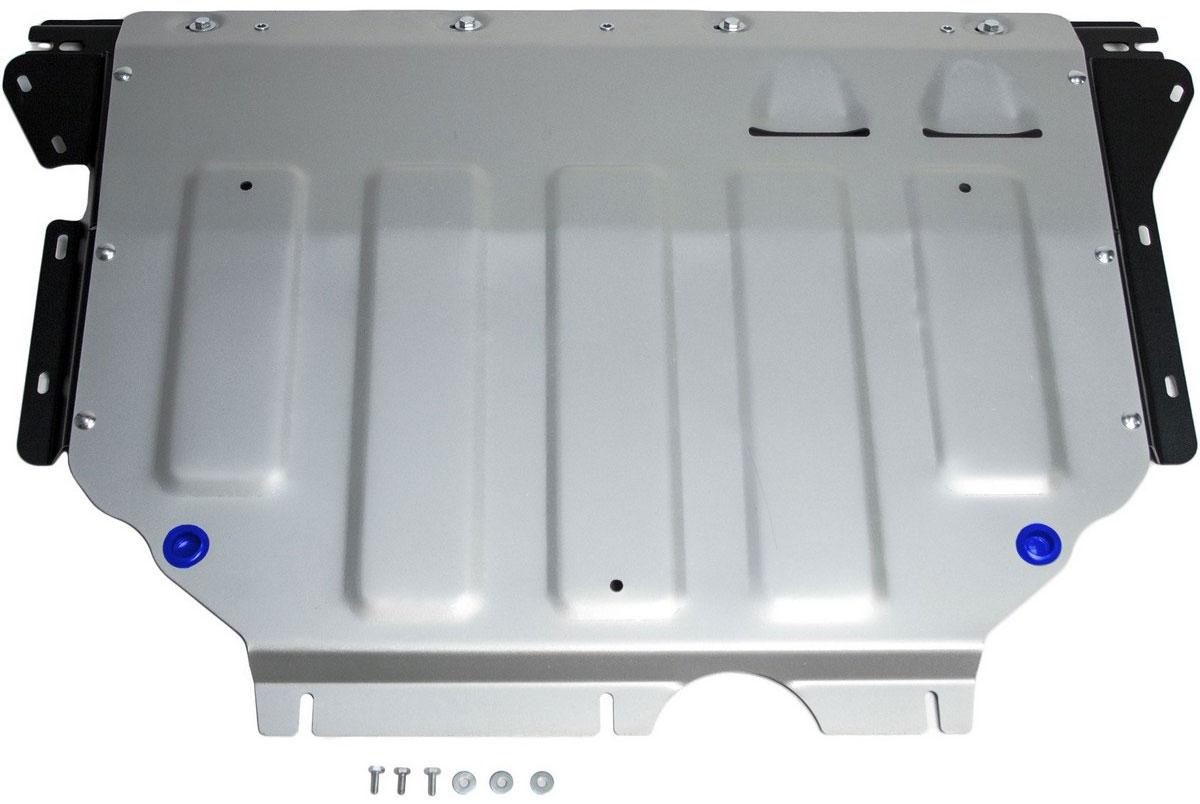 Защита картера и КПП Rival, для Skoda Kodiaq 2017-н.в./Volkswagen Tiguan 2017-н.в., алюминий 4 мм333.5115.1Защита картера и КПП для Skoda Kodiaq V - 2.0 (180л.с.); 2.0d (150л.с.) 2017-н.в./Volkswagen Tiguan V - 1.4 (125л.с.); 2.0d (150л.с.); 2.0 (180л.с.) 2017-н.в., алюминий 4 мм, крепеж в комплекте, 333.5115.1Алюминиевые защиты Rival надежно защищают днище вашего автомобиля от повреждений, например при наезде на бордюры, а также выполняют эстетическую функцию при установке на высокие автомобили.- Толщина алюминиевых защит в 2 раза толще стальных, а вес при этом меньше до 30%.- Отлично отводит тепло от двигателя своей поверхностью, что спасает двигатель от перегрева в летний период или при высоких нагрузках.- В отличие от стальных, алюминиевые защиты не поддаются коррозии, что гарантирует срок службы защит более 5 лет.- Покрываются порошковой краской, что надолго сохраняет первоначальный вид новой защиты и защищает от гальванической коррозии.- Глубокий штамп дополнительно усиливает конструкцию защиты.- Подштамповка в местах крепления защищает крепеж от срезания.- Технологические отверстия там, где они необходимы для смены масла и слива воды, оборудованные заглушками, надежно закрепленными на защите.- Помимо основной функции защиты от удара, конструкция так же существенно снижает попадание в моторный отсек влаги и грязи.В комплекте инструкция по установке.Уважаемые клиенты!Обращаем ваше внимание, на тот факт, что защита имеет форму, соответствующую модели данного автомобиля. Наличие глубокого штампа и лючков для смены фильтров/масла предусмотрено не на всех защитах. Фото служит для визуального восприятия товара.