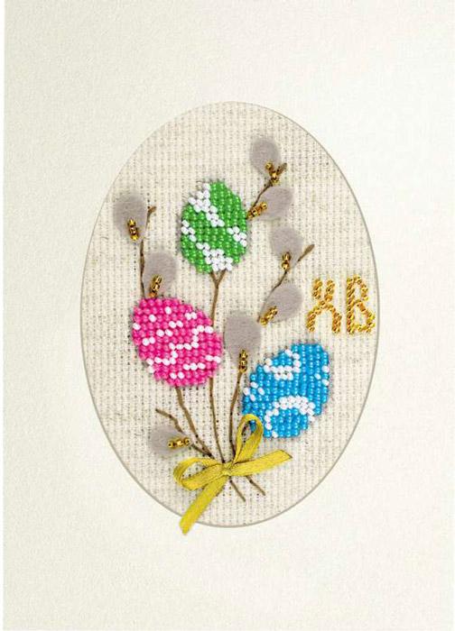Набор для вышивания открытки бисером